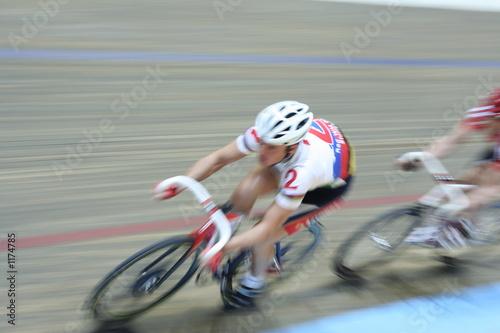 Foto op Canvas Fietsen speed