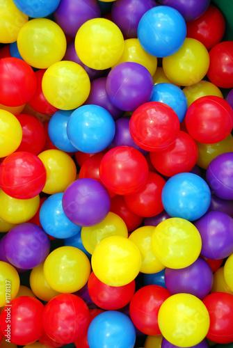 Poster Confiserie playground balls