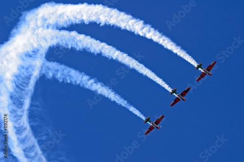 Fotografija  aerobatic display
