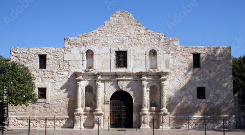 alamo in san antonio Canvas Print