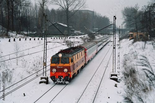 intercity train in katowice