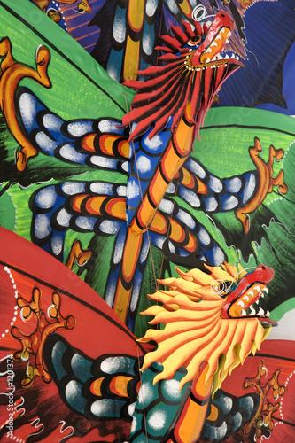 Tuinposter Vlinders bali kites 4