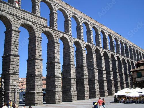 Murais de parede segovia aqueduct