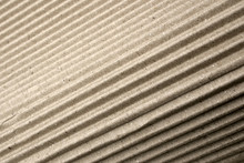 Angled Corrugated Cardboard