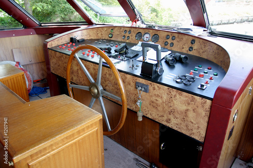 Fotografie, Obraz  poste de cabine d'un bateau