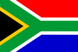 canvas print picture - flag of south africa