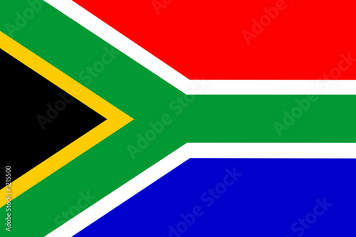Fotografie, Obraz  flag of south africa