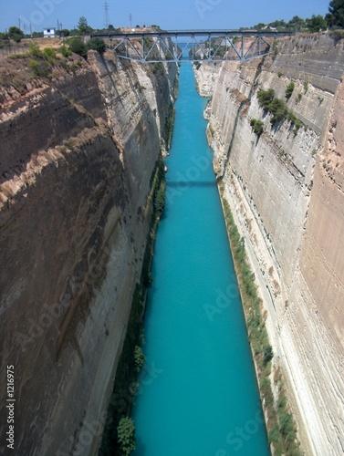 Obraz na plátne canal de corinthe - grece