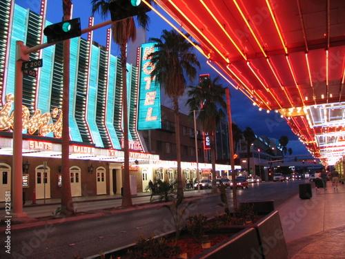 Photo sur Toile Las Vegas fremont street