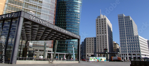 Canvas Prints Berlin potsdamer platz
