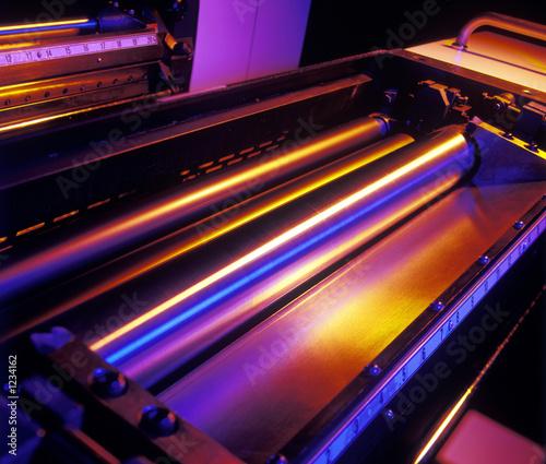 Fotografie, Obraz press rollers