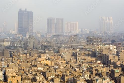 skyscrapers and slums in cairo
