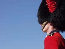 Guardsman At Quebec Citadel