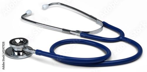 Fotografie, Obraz  blue stethoscope wide