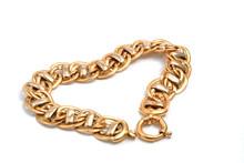 Gold Bracelet In Heart
