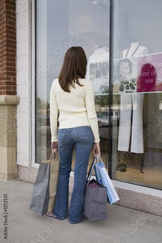 Fotografie, Tablou  shopping
