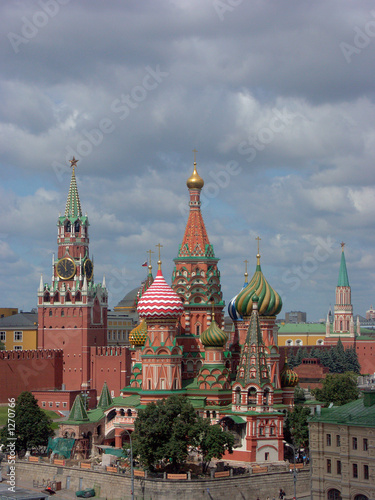 Wall Murals Moscow st. basil cathedral