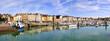 canvas print picture - port de dieppe