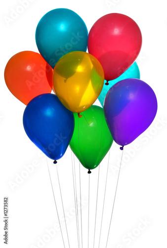Papiers peints Montgolfière / Dirigeable party balloon