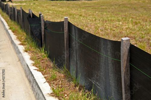 Photo erosion control barrier