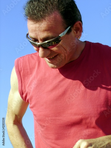 Fotografie, Obraz  homme riant
