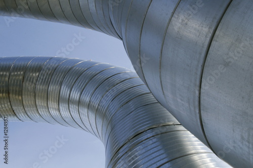 Photo ventilation ducts