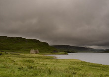 Ruined House Loch Assynt
