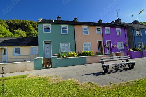 Photo irish houses