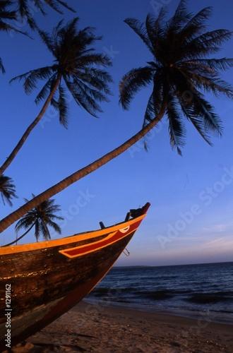 Foto-Leinwand - paysage, vietnam (von J-F Perigois)