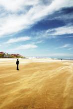 Skegness - Windswept Beach