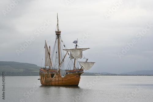 Canvas Prints Ship replica ship