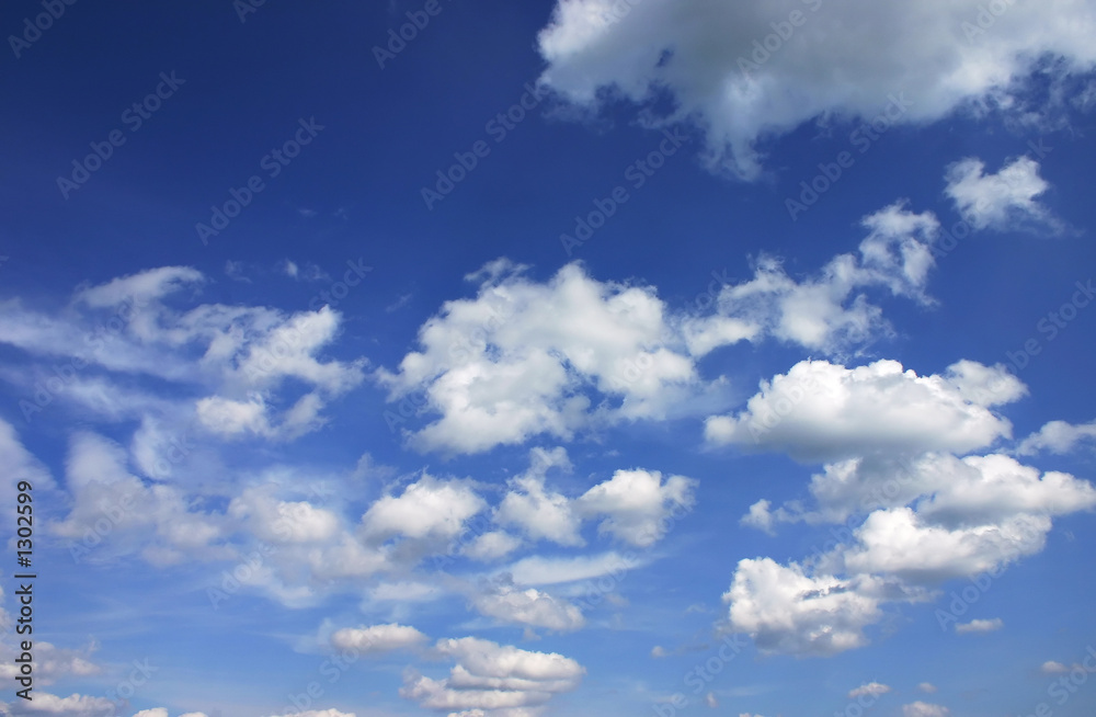 Fototapeta blue sky with clouds