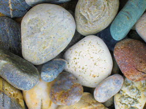 Foto-Stoff - pebbles (von Paul Hampton)