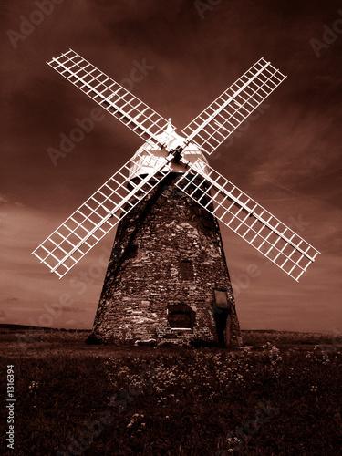 Foto op Plexiglas Molens sepia windmill