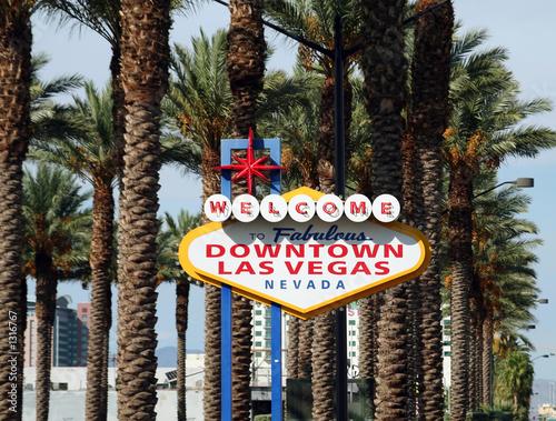 Poster Las Vegas welcome to vegas