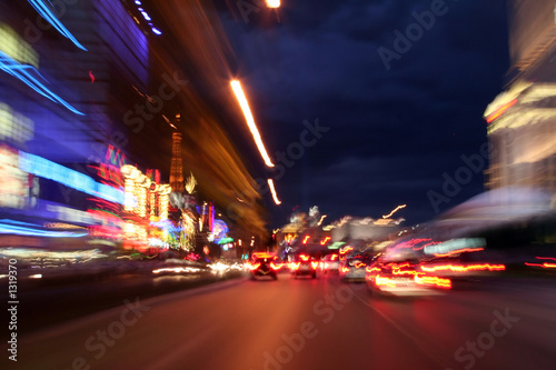Photo sur Aluminium Las Vegas down las vegas strip