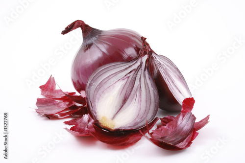 Fotografía  red onion