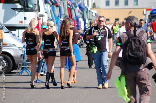 Photo sur Aluminium Motorise gridgirls on tour