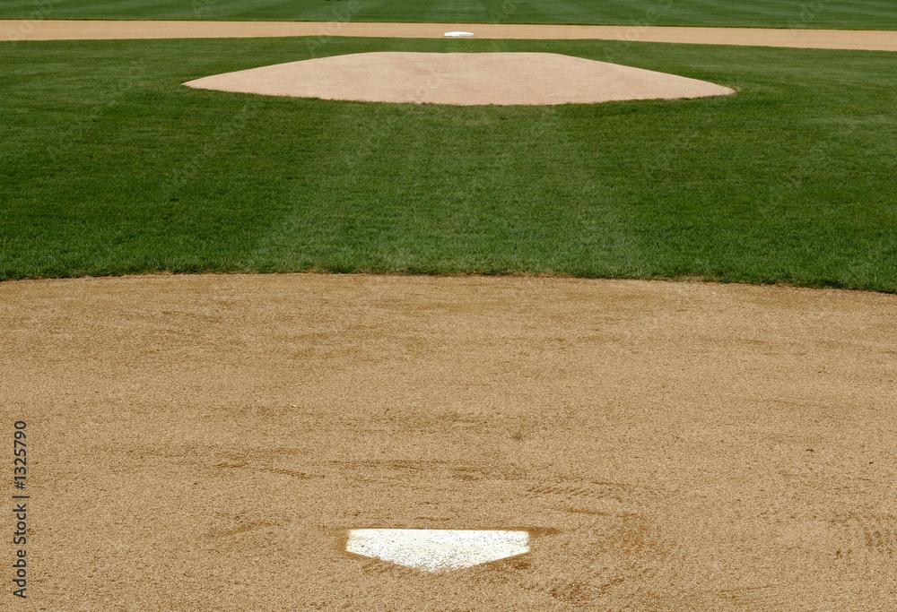 professional baseball infield Foto, Poster, Wandbilder bei EuroPosters