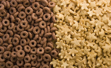 Chocolate Rings And Golden Star Cereals