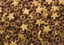 Chocolate Rings With Several Golden Stars