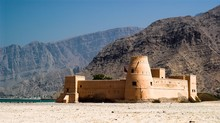 Sea Fort Protecting Ormuz