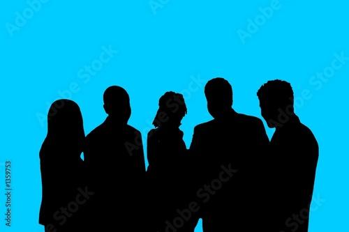 Fototapety, obrazy: blue team