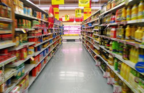 Fotografia  supermarchés