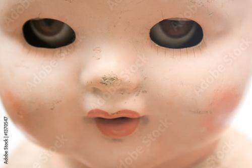 Fotografia, Obraz  weird doll face