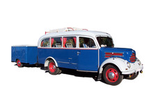 Old Touring Bus