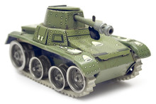 Old Toy Tank