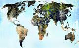 Mapa świata - 1394961