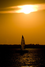 Sail Boat Sunset