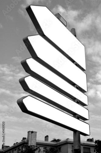 Photo  panneaux de signaléthique